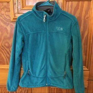 Women's size S Mountain Hardwear blue fleece